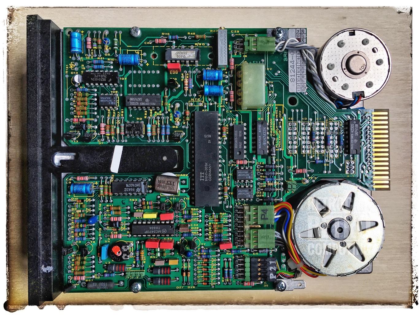 Floppy Disk Drives / Siemens, BASF 6106 / Info // retrocmp